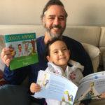 Escritor lança três livros criados com as filhas. E pode te ajudar a fazer o mesmo!