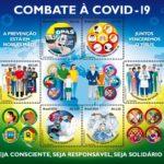Correios lança selos em homenagem às ações de combate à Covid-19